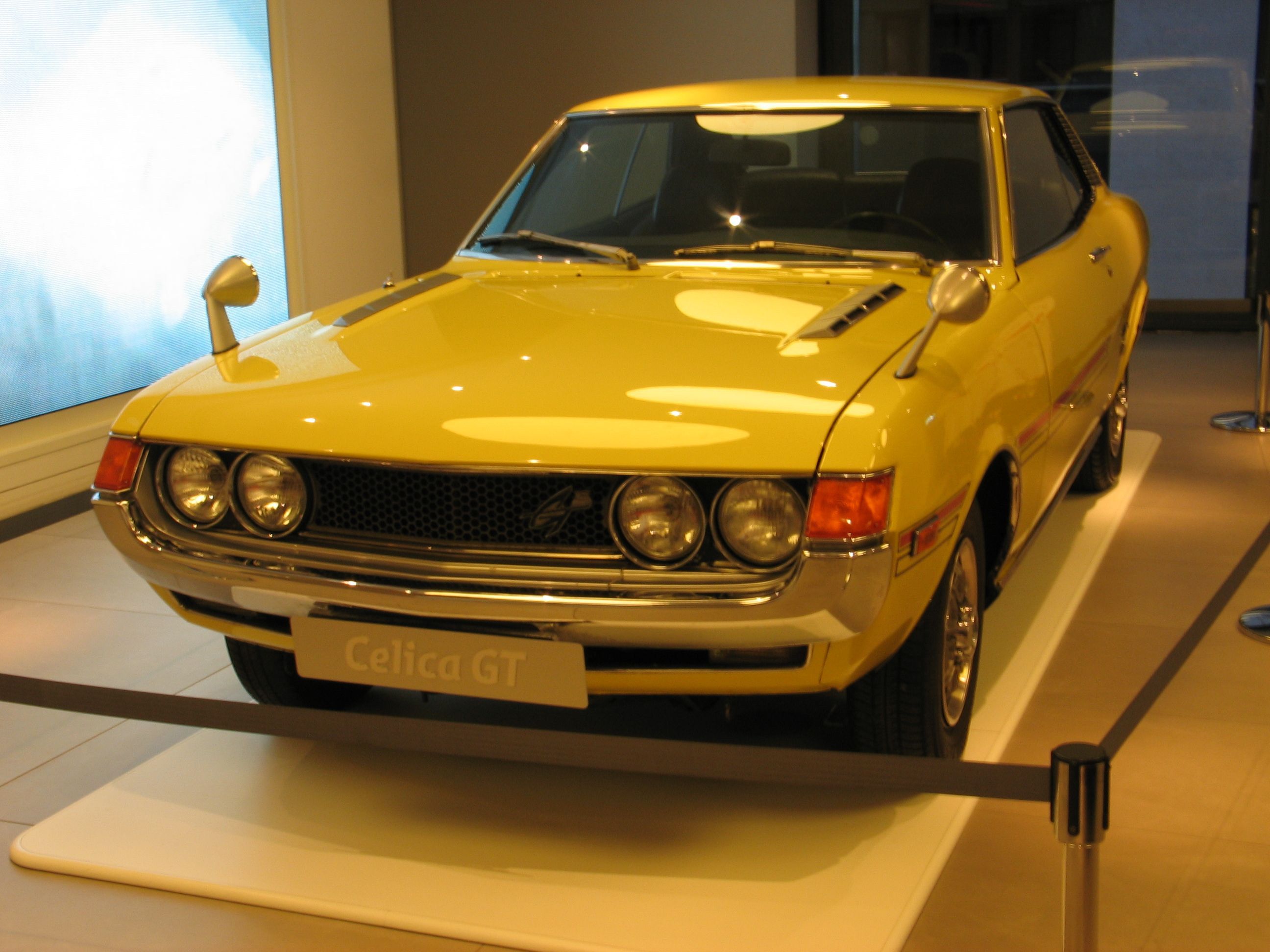 toyota celica gt in paris 25 4 09 CARS Pinterest