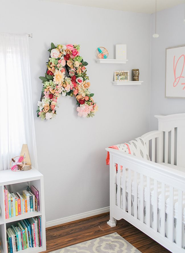 A Girly Nursery With Bohemian Accents Kiddie Bedrooms