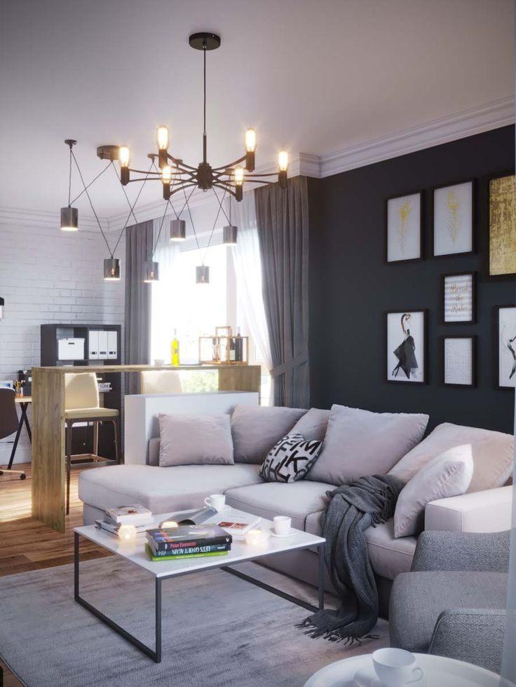 Motel Room Interiors: Luxury Living Room Design, Luxury Living Room