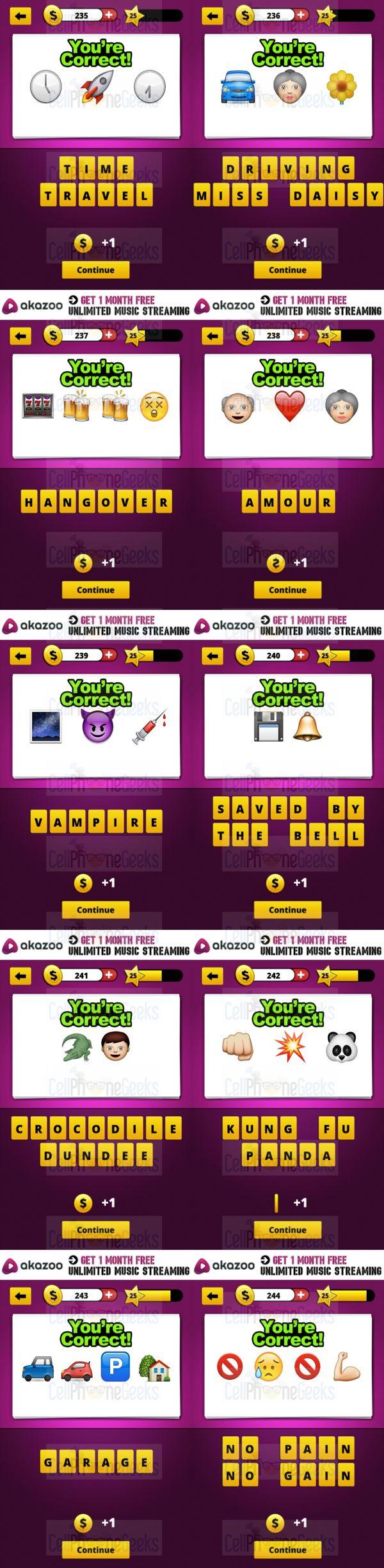Guess The Emoji Answers Level 2 : guess, emoji, answers, level, Guess, Emoji, Answers