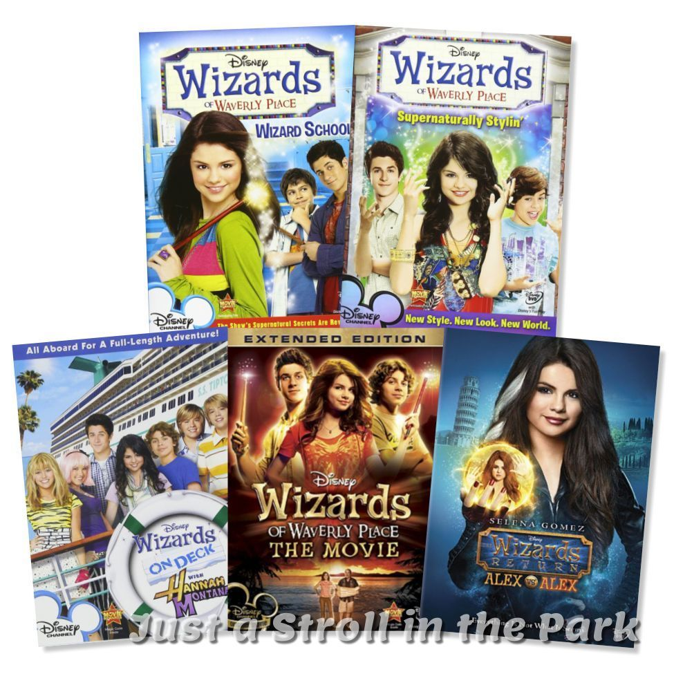 Wizards Of Waverly Place Disney Series Complete Collection Movie Box Dvd Sets Dvds Movies Dvds Blu Ray Di Wizards Of Waverly Place Movies Box Waverly