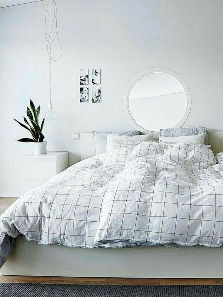80 moderne minimalistische Schlafzimmerideen