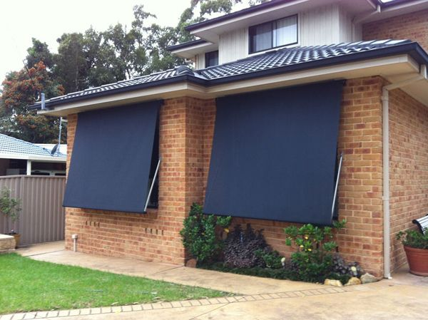 Heavy Duty Design With Optimal Airflow Pivot Arm Awnings Are Ideal For Larger Windows