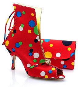 British Shoe Designer Silvia Campbell Handmade Creations at Couture Fashion Week New York
