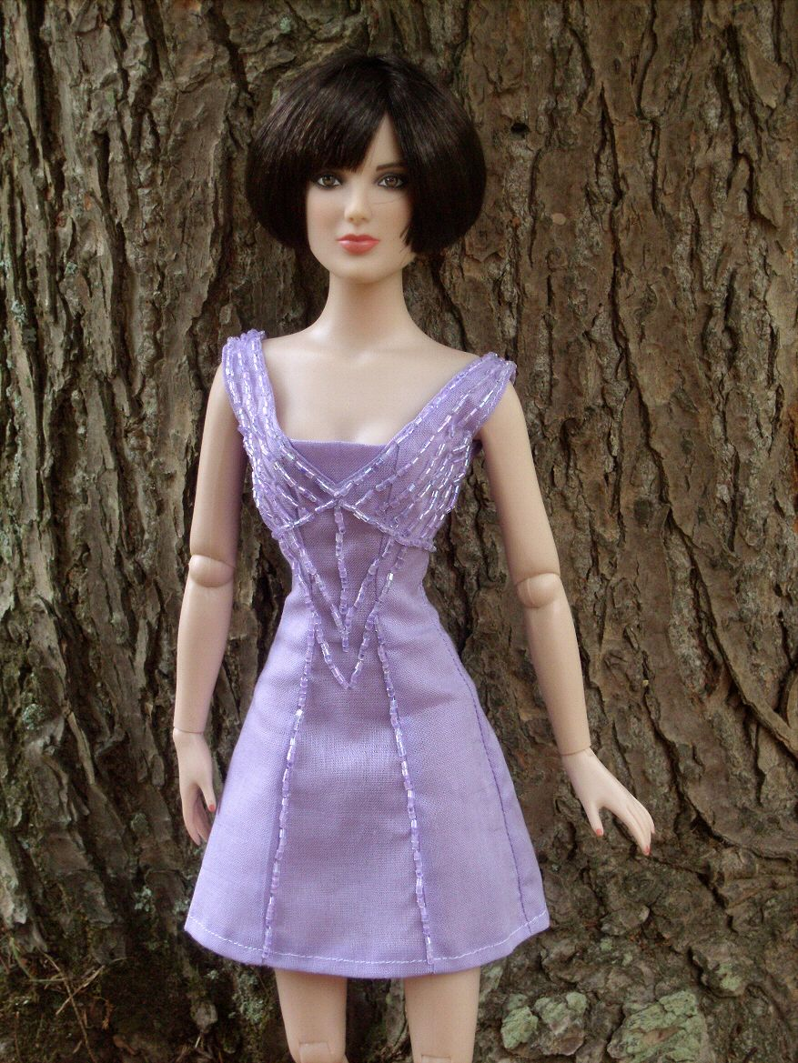 Alice Cullen Wedding Party Purple Dress for Tonner Dolls from ...