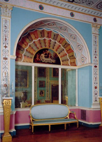 Famous English Manor Plasterwork Interiors English Neoclassic