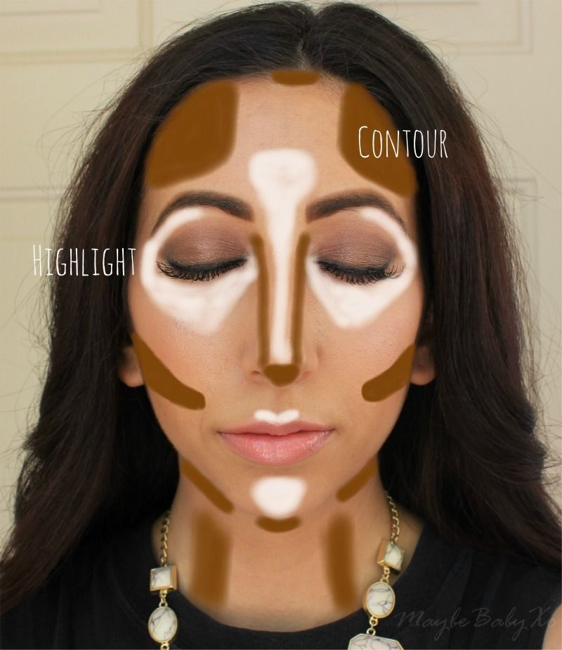 How To Highlight Contour Youtube Tutorial Maybe Baby Xomaybe
