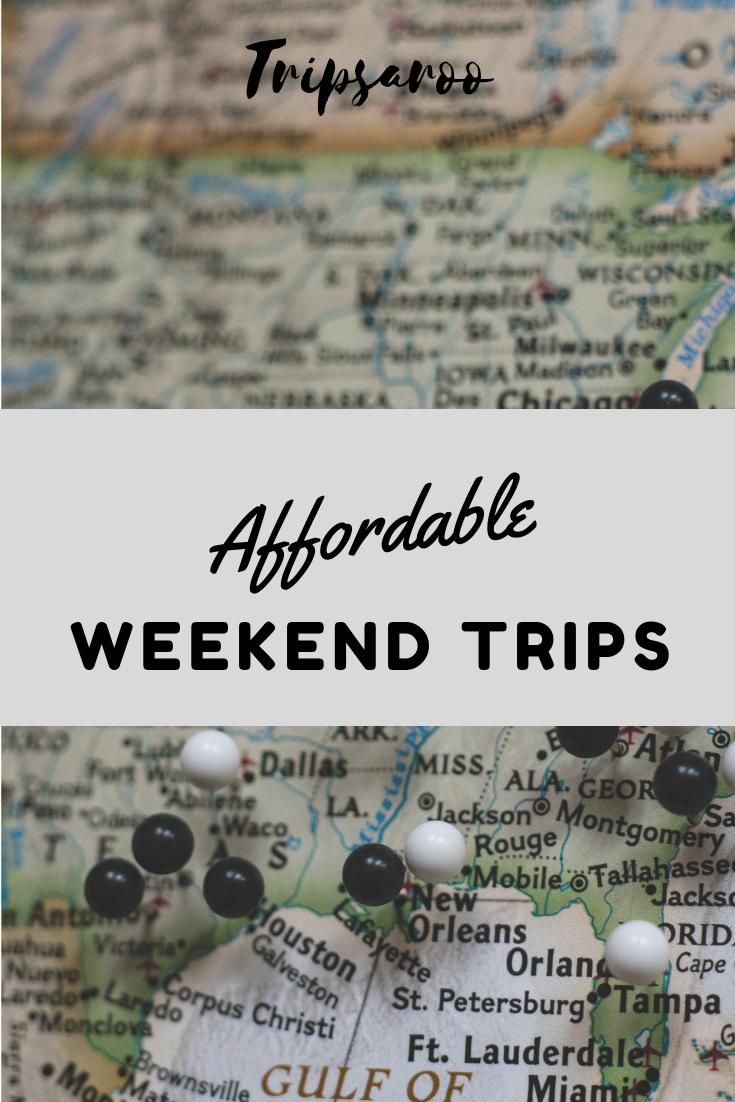 cheap weekend getaways in usa affordable destinations in 2019 rh pinterest com