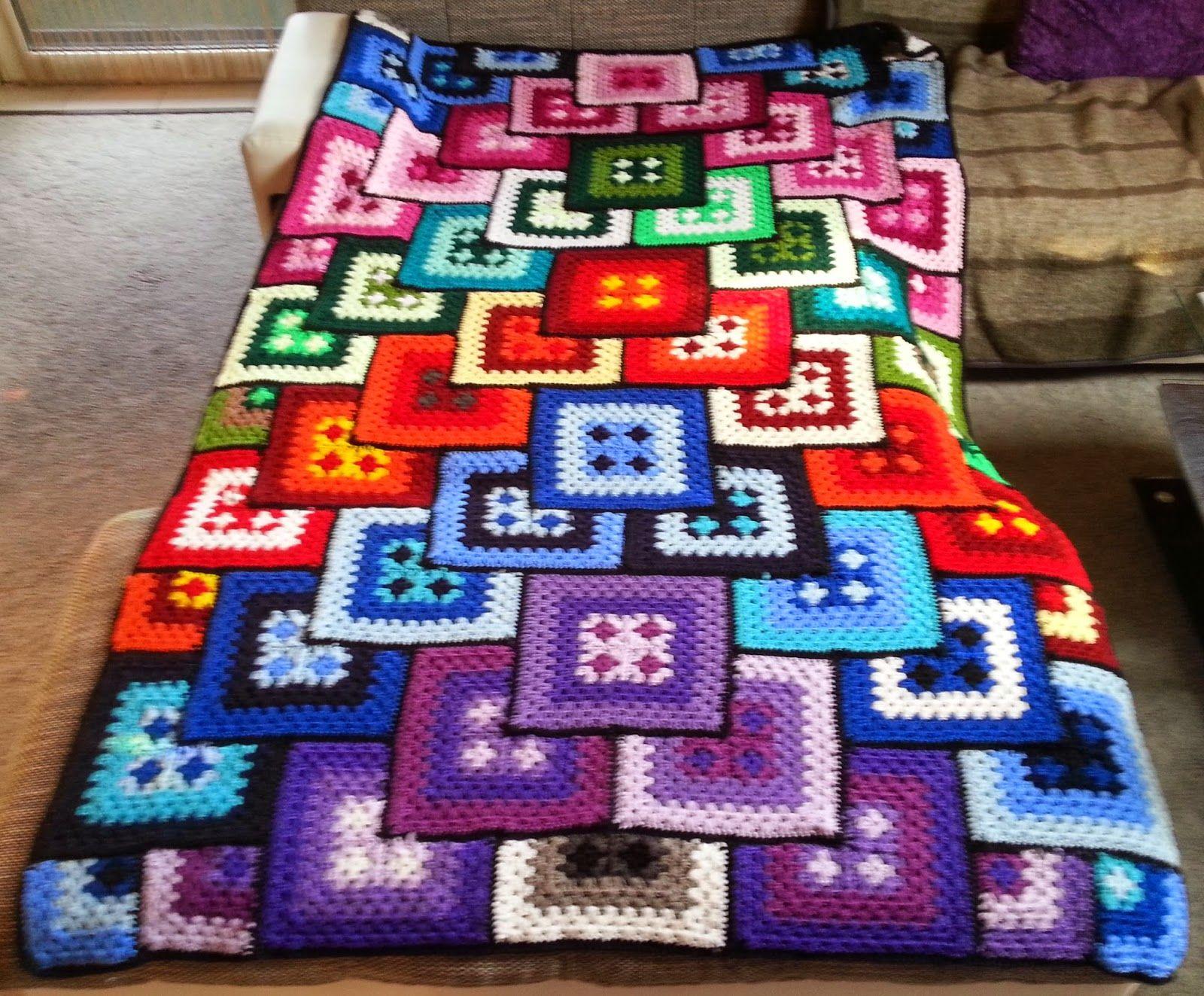 h kelfieber patchwork granny decke h keln pinterest deckchen patchwork und wolle. Black Bedroom Furniture Sets. Home Design Ideas