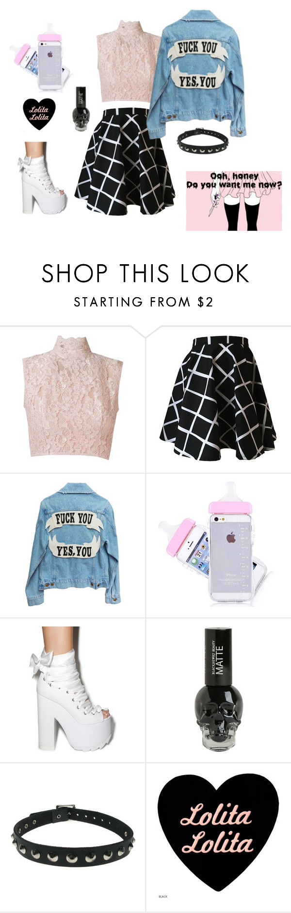 """""""Fudge You, Yes You <3"""" by kimberly-pera on Polyvore featuring mode, Martha Medeiros en Y.R.U."""