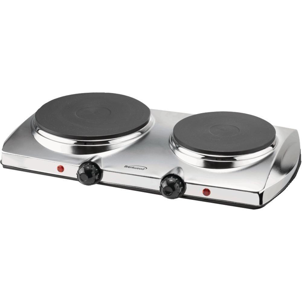 brentwood 1440 watt electric double hot plate garage conversions rh pinterest com