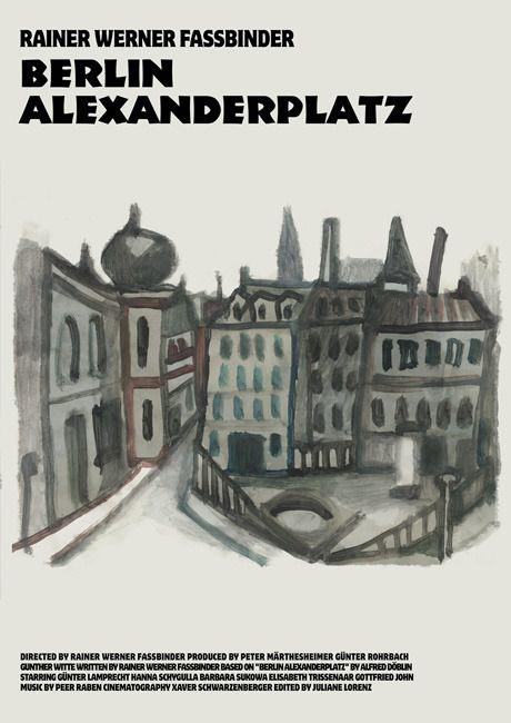 Antonio Stella I Poster Per Berlin Alexanderplatz 1980 By Rainer Werner Fassbinder Cinema Posters Vintage Poster Art Berlin