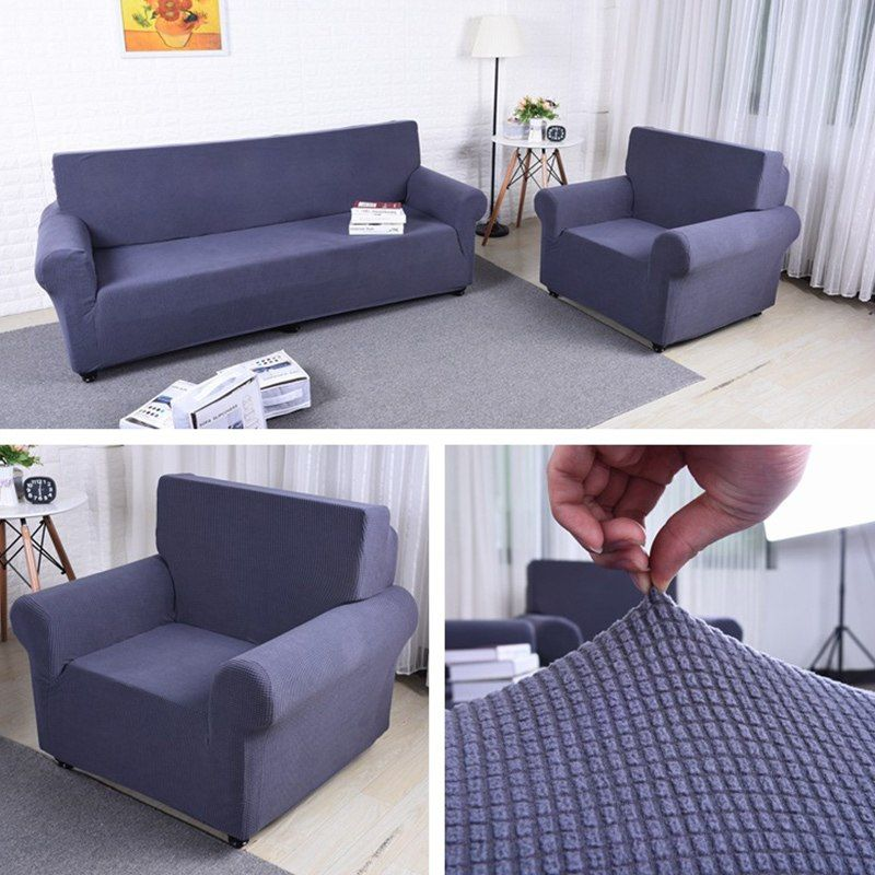 universe of goods buy pure color couch sofa seat cover thick rh pinterest com