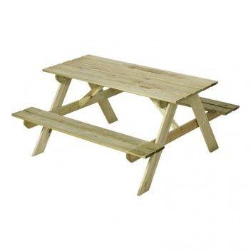 Trädgårdsmöbel bord/bänkset för barn | Pinterest