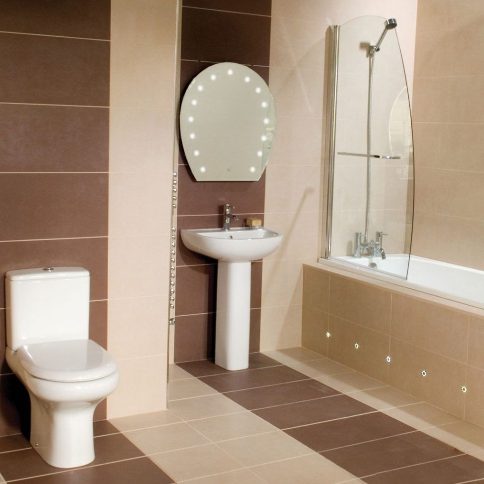 bathroom small space design%0A Compact toilets for Small Space  Interior Paint Color Schemes Check more  at http    Brown Bathroom TilesBathroom TilingDesign