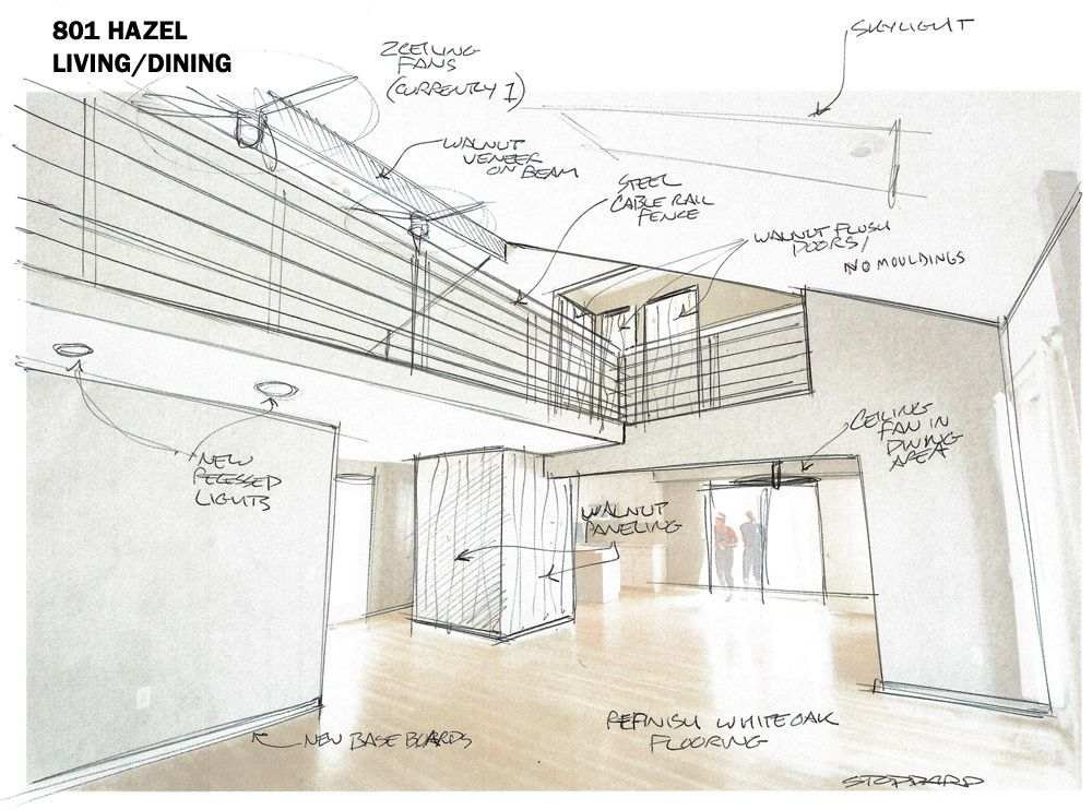 drawing the renovation house interior design sketches sketches rh pinterest com