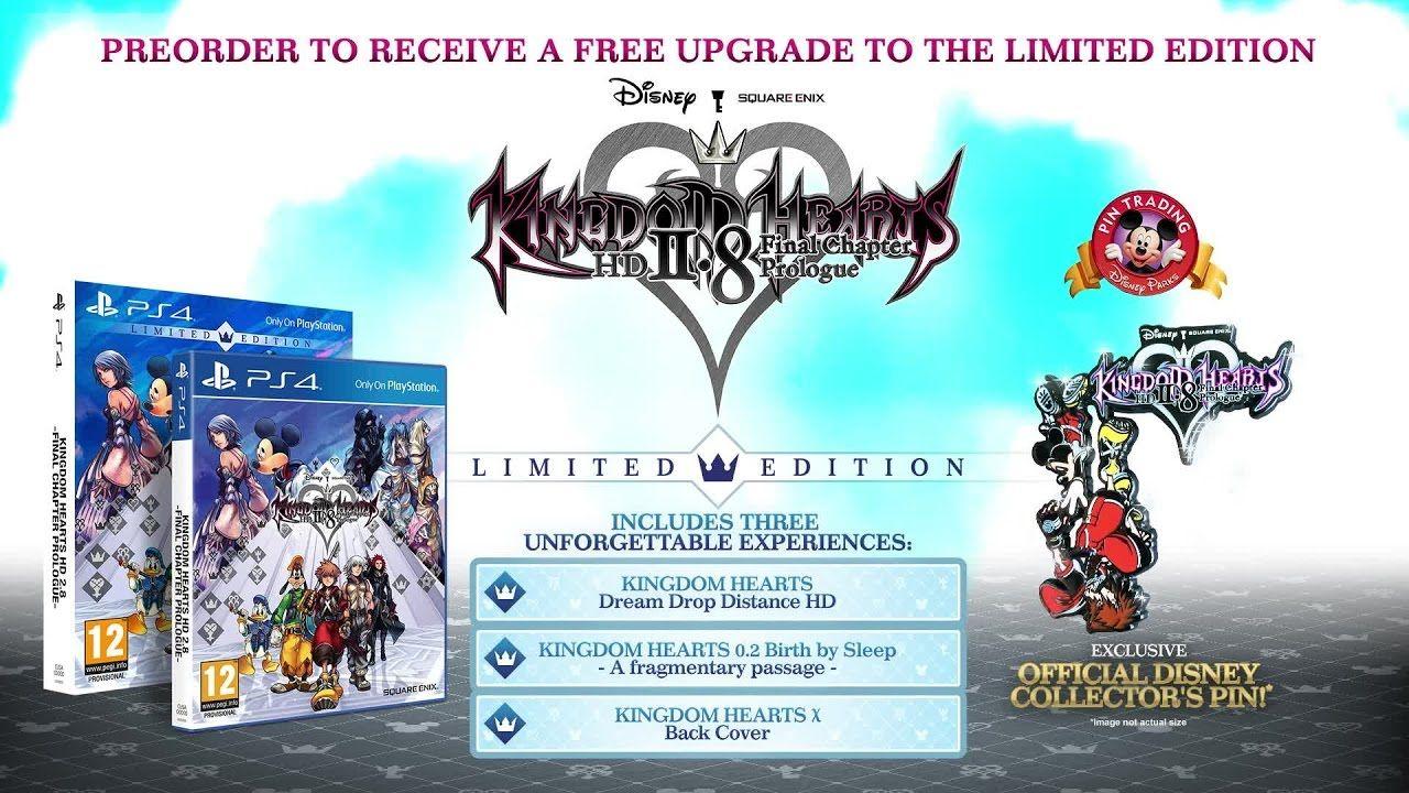 Kingdom Hearts Hd 2 8 Final Chapter Prologue Tgs 2016 60 Sec