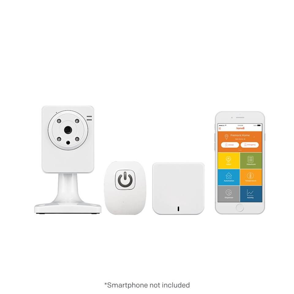 Connect Your Marantec Opener With Your Smart Phone Seeing Is Believing Home8 Actionview Is A Collaborative Home Security Systems Home Security System Monitor
