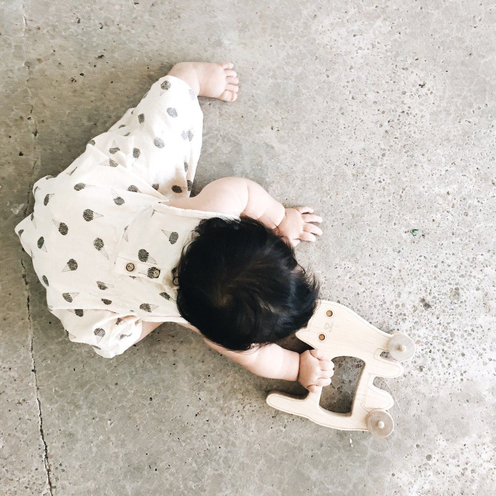 Cat Push Toy - Little Sapling Toys