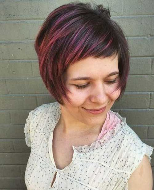 Hairstyles 2015 Short Pretty Short Bob Hairstyles With Side Swept Bangs  Bob Hairstyles