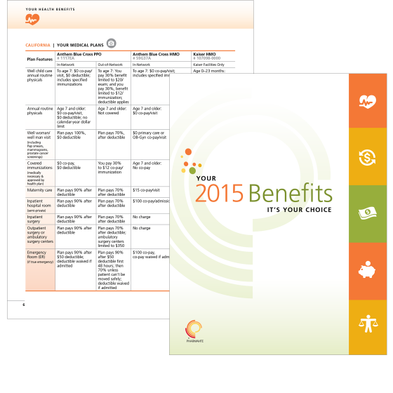 Hr Communication Brochure To Explain Benefits Employee Benefits