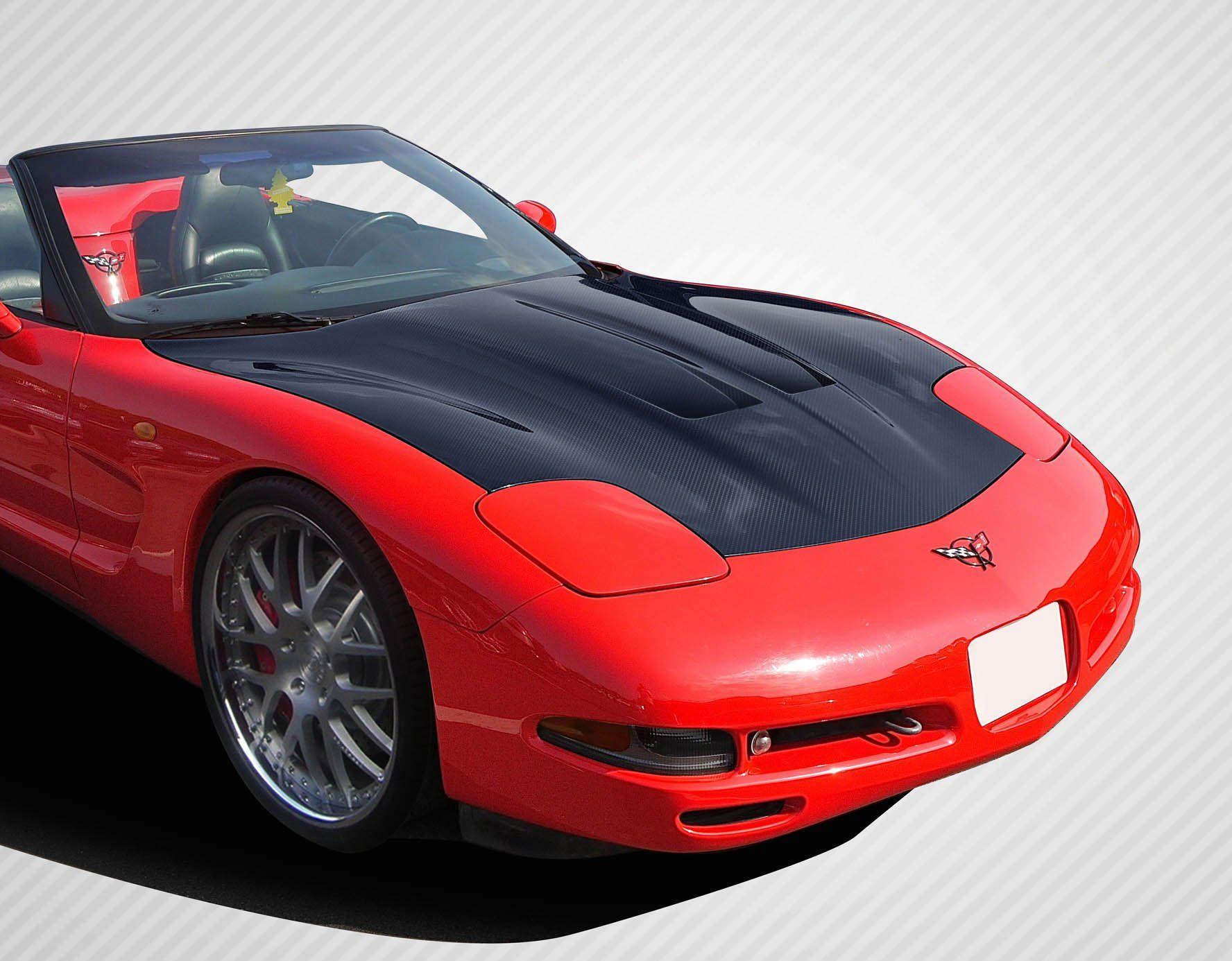 1997 2004 Chevrolet Corvette C5 Carbon Creations Gt Concept Hood 1 Piece Chevy Corvette Corvette Chevrolet Corvette