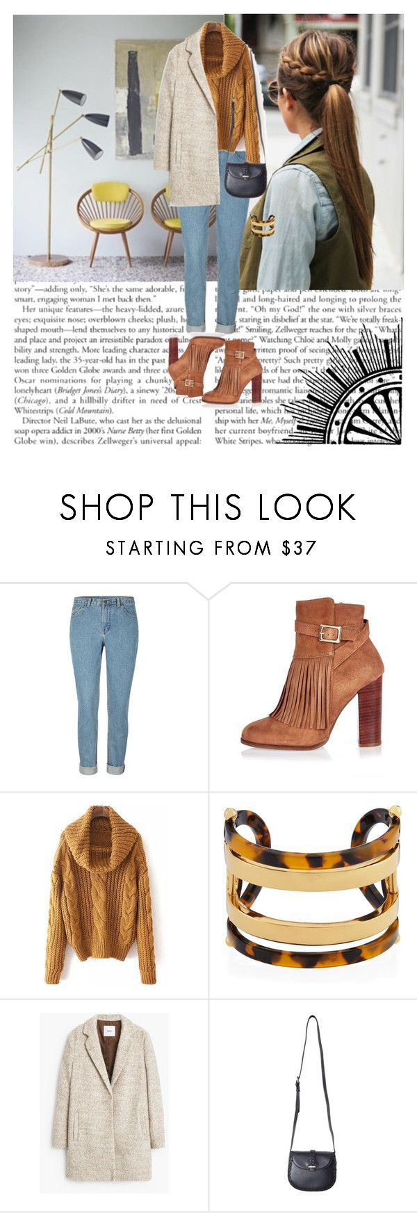 """Untitled #14"" by tajci-95 ❤ liked on Polyvore featuring moda, River Island, Tory Burch y MANGO"