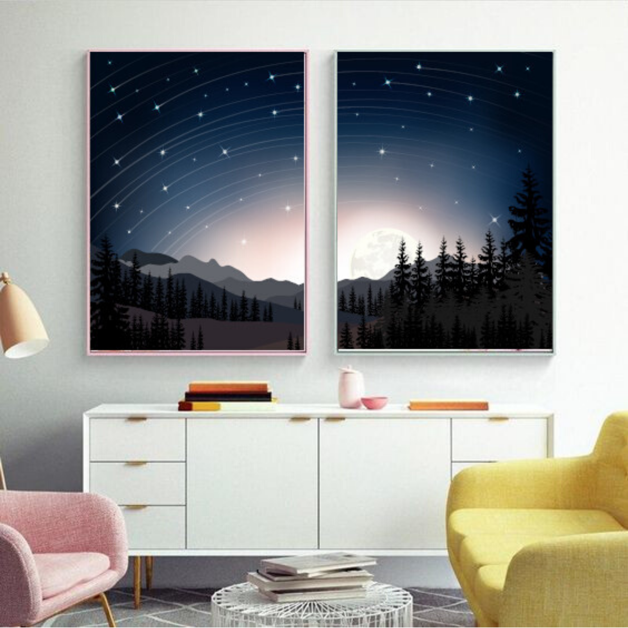 Printed Posters Set Of 3 Wall Decor Gift Large Formats London In 2020 Large Wall Decor Living Room Wall Posters Bedroom Kid Room Decor