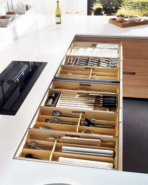 15 kitchen drawer organizers for a clean and clutter free d cor rh pinterest com