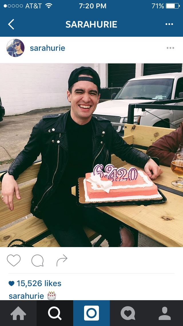 Of course this is his cake