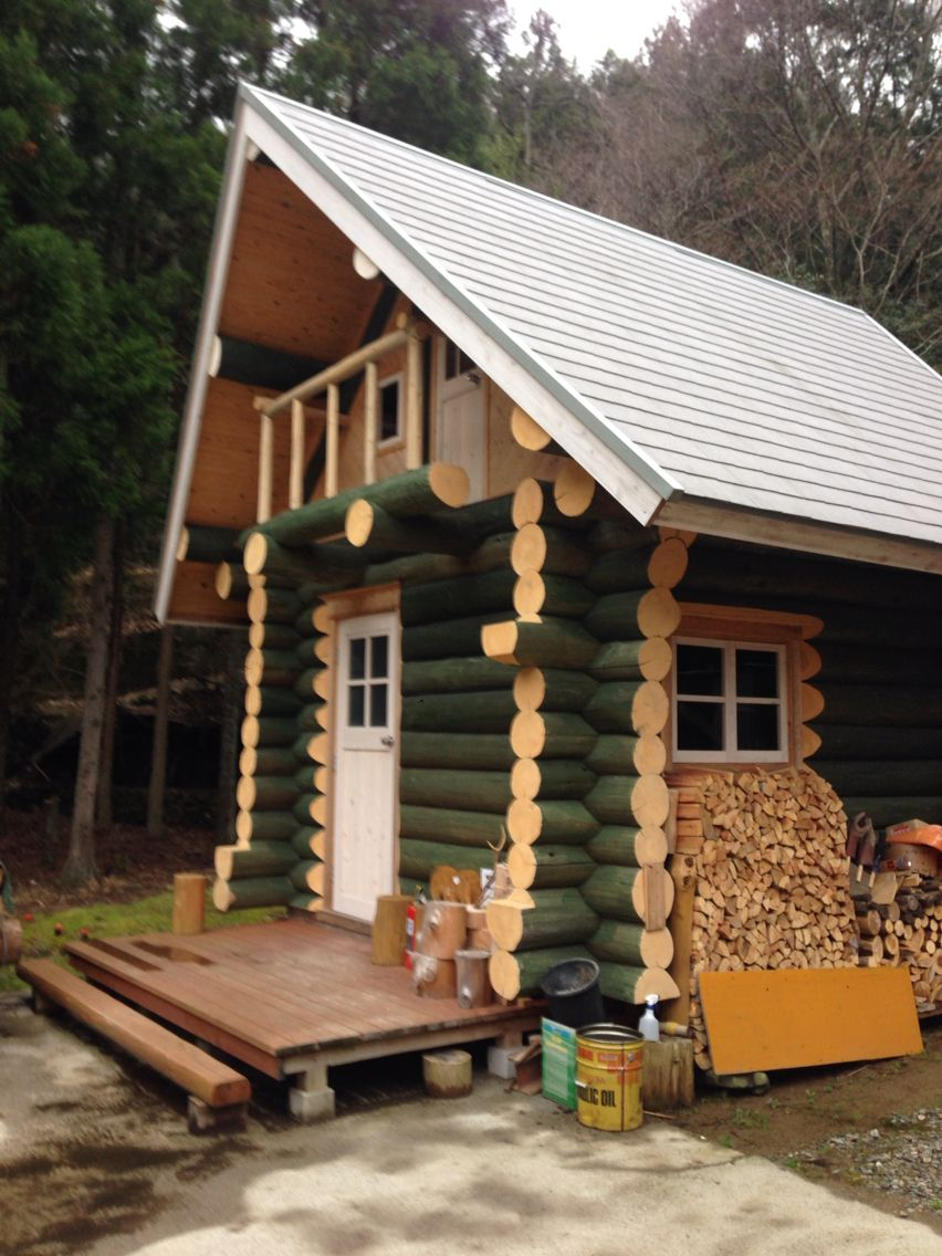 this is a japanese log cabin built by a sole craftsman it took him rh pinterest com