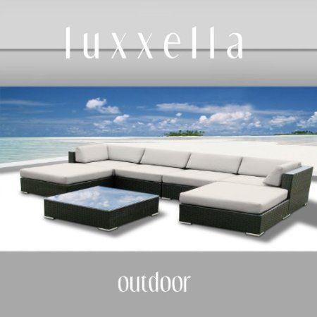 Amazon.com: Patio MALLINA 7 Pcs Wicker Furniture NEW (Off White): Patio, Lawn & Garden $1349