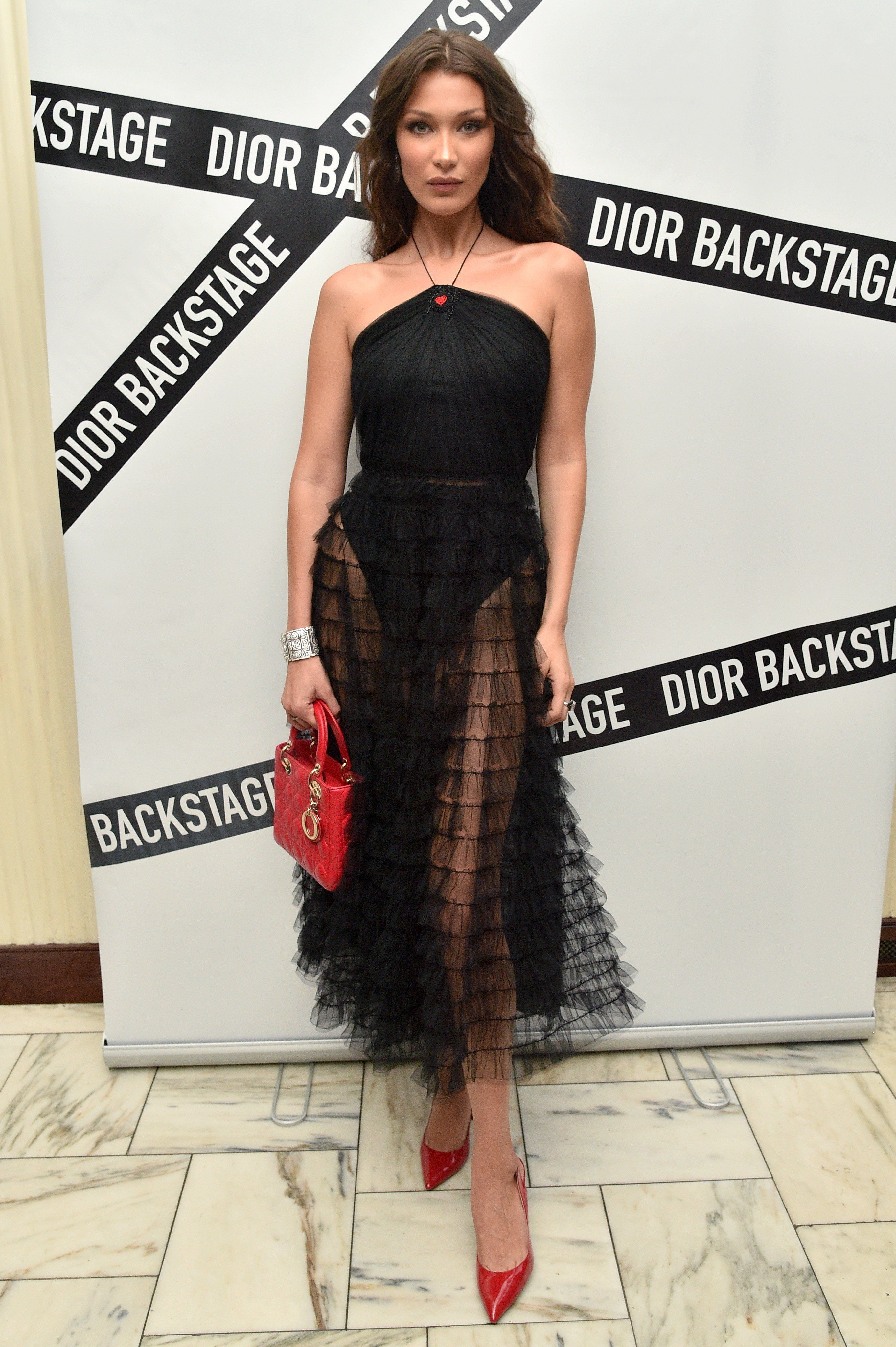 Image Result For Bella Hadid Backstage Dior Fashion