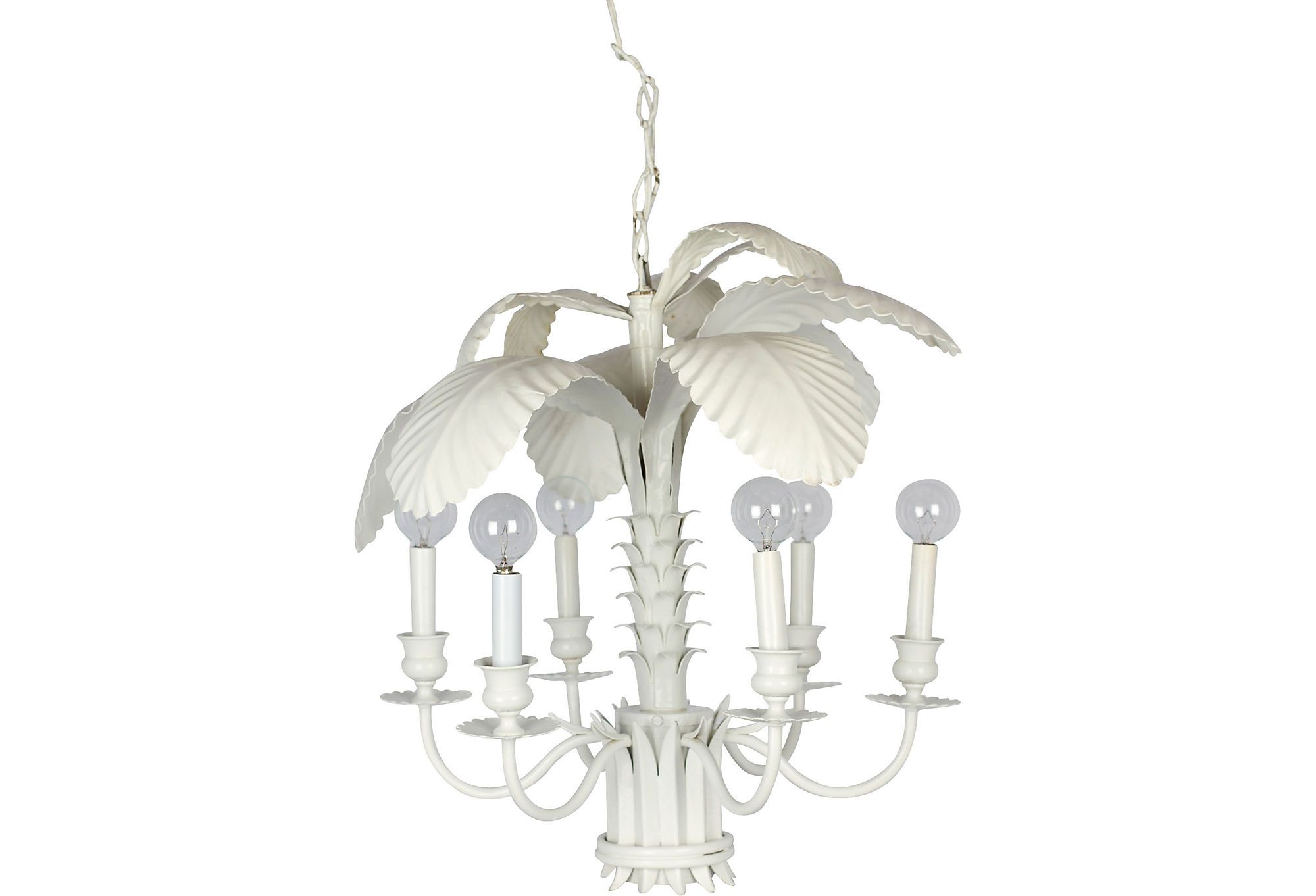 White palm tole chandelier on one kings lane today shop white palm tole chandelier on one kings lane today arubaitofo Images