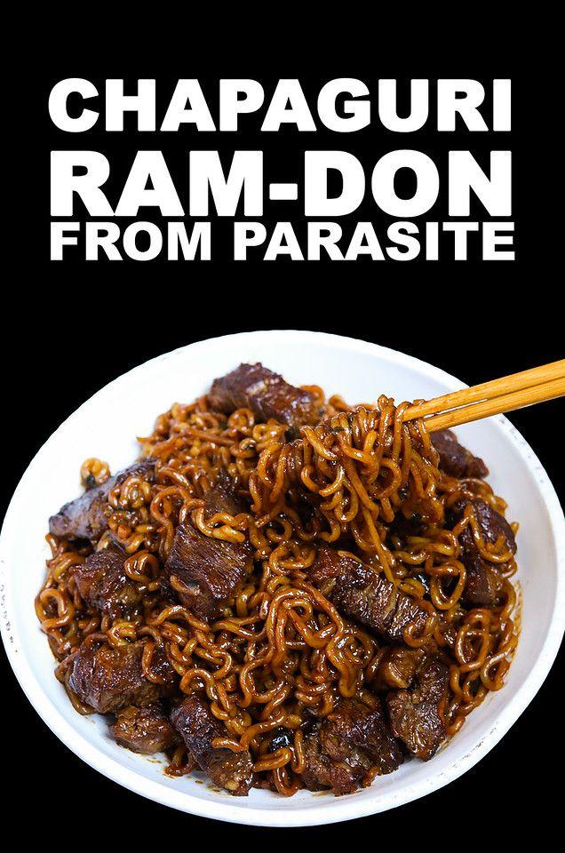 Photo of Chapaguri AKA Ram-don Parasite Recipe & Video – Seonkyoung Longest