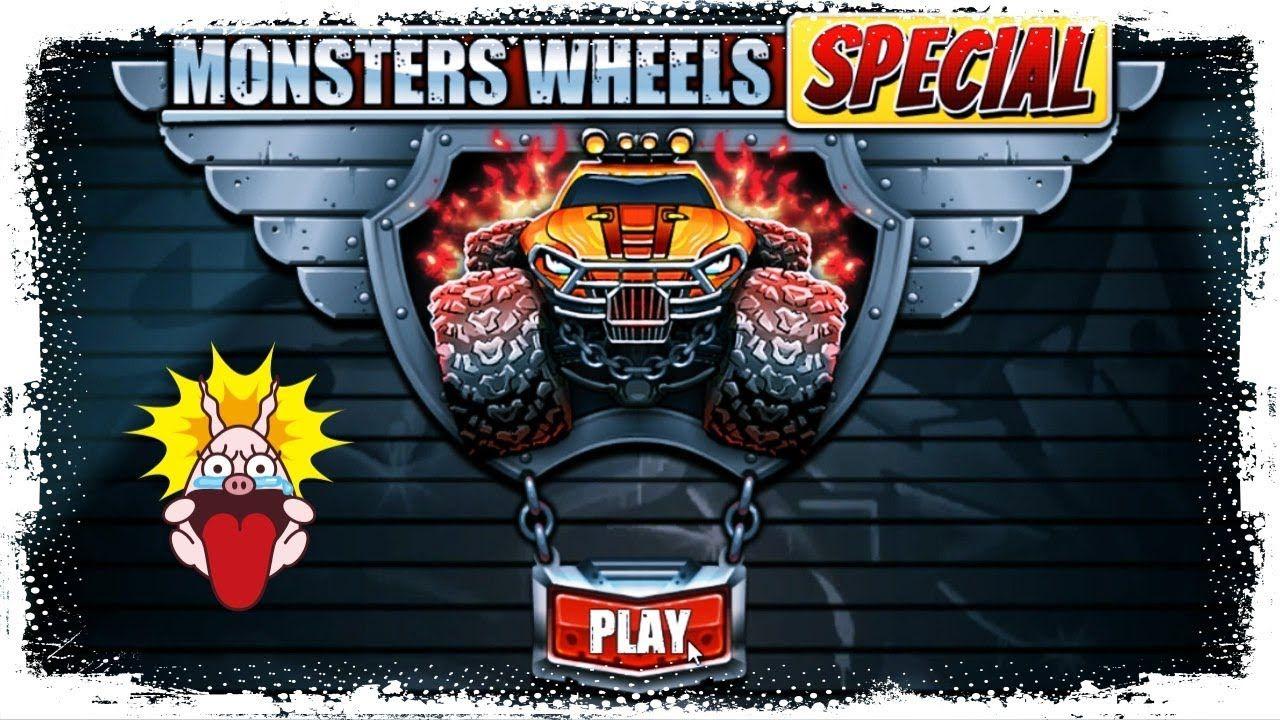 Monster's Wheels Special Racing Battle Games By SMOKOKO