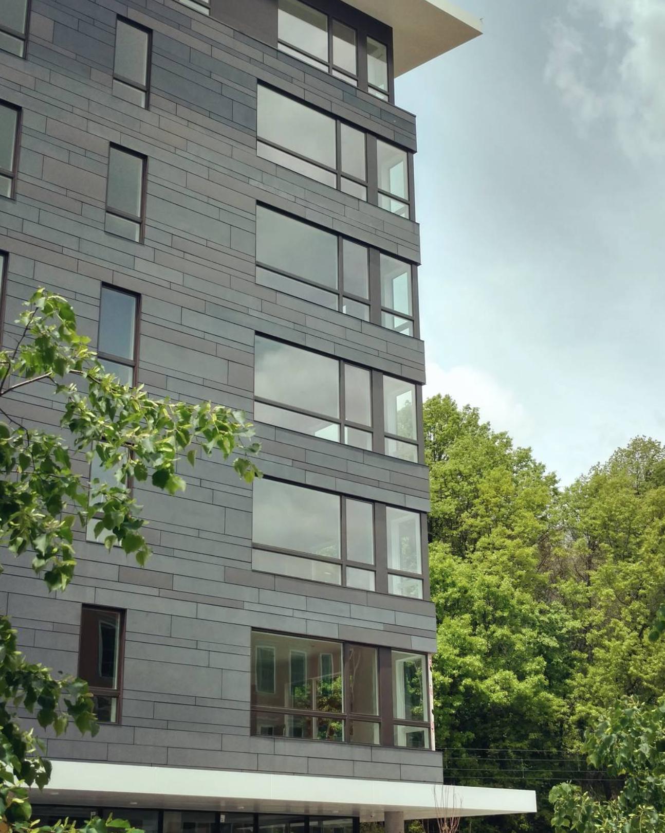 Nj Hoboken Apartment Building Facade Material Facade Apartment Building