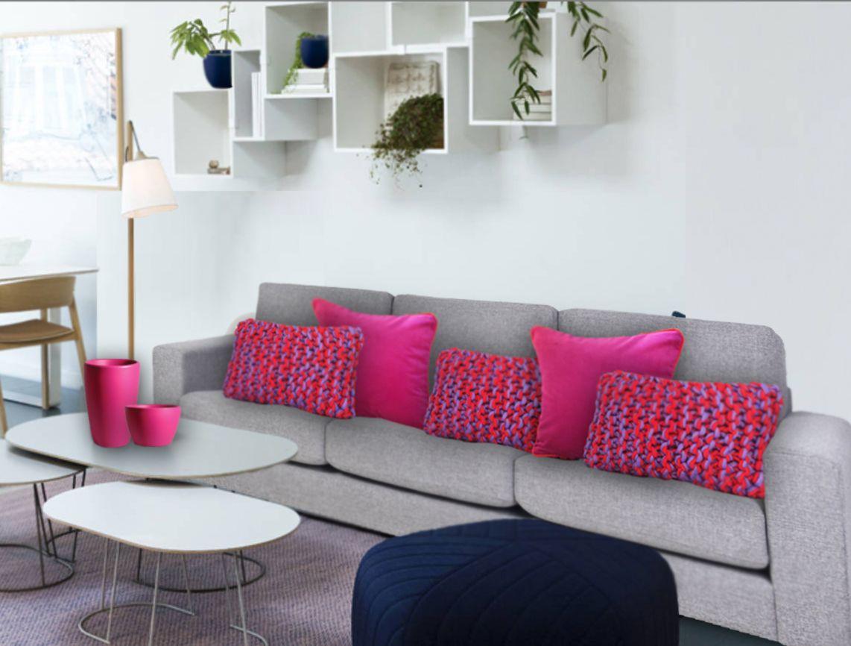 coussin luna park quels coussins pour un canap gris. Black Bedroom Furniture Sets. Home Design Ideas