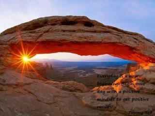 Mesa Arch overlooks Canyonlands National Park, which is known for its arches, canyons, buttes, and mesas created by the Colorado and Green Rivers. --- Image by © Louie Psihoyos/Science Faction/Corbis © Corbis.