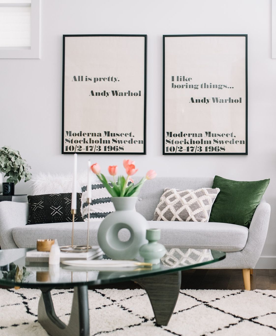 mid century modern living room refresh mid century modern living rh pinterest com