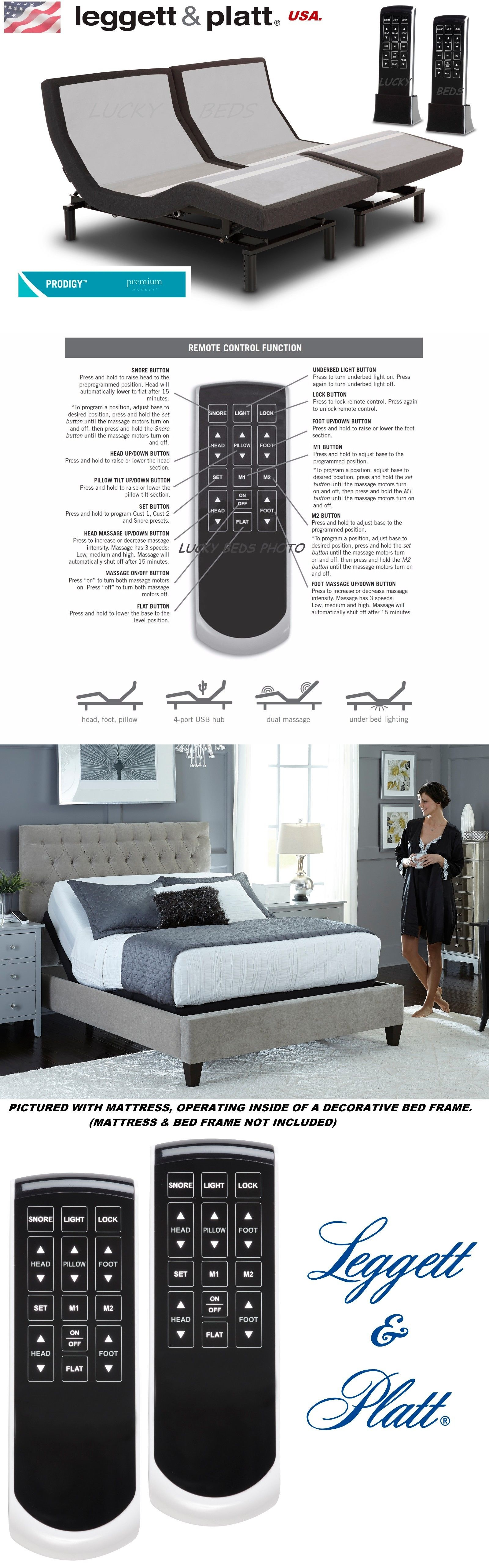 Bed and Waterbed Accessories Prodigy 2 0 Leg t And Platt