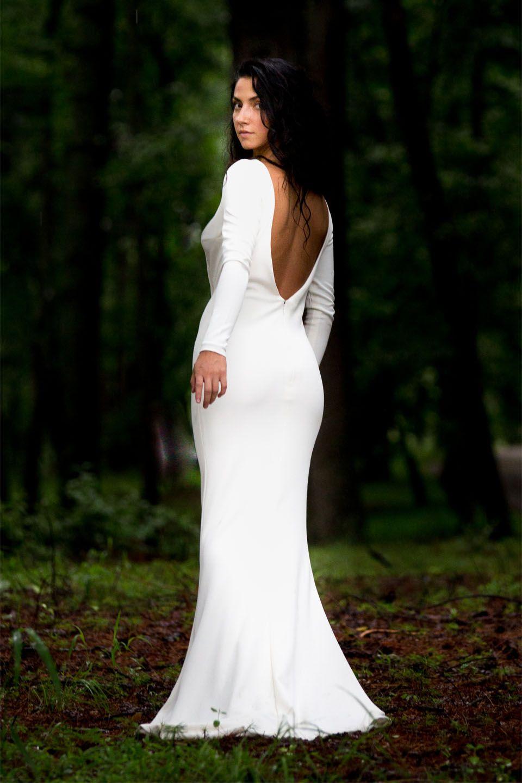 Trendy wedding dresses  Angela Kim Couture Modern Wedding Dress  Mermaid wedding dress