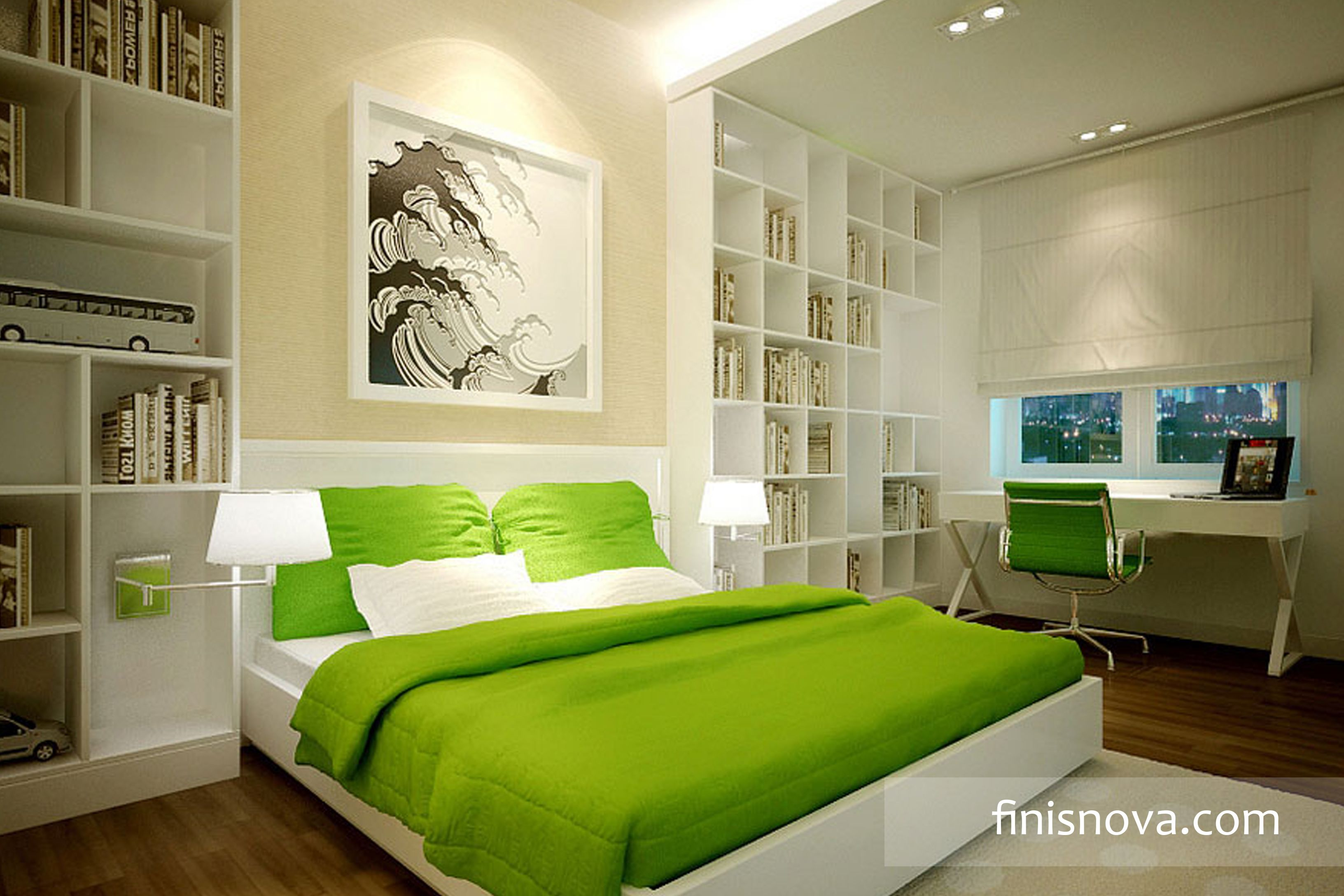 green bedroom decor Decorating Your Bedroom with
