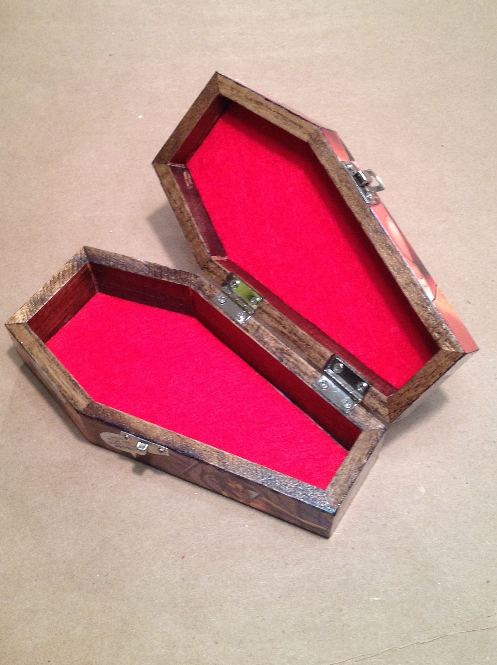 Vampirella Comic Coffin Jewelry Box Now listed hyperartisthotmail