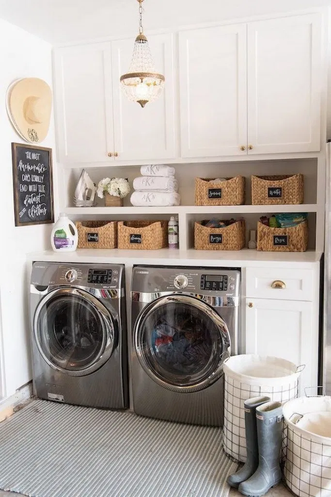 10 Brilliant Laundry Room Decorating Ideas To Organize Space 24
