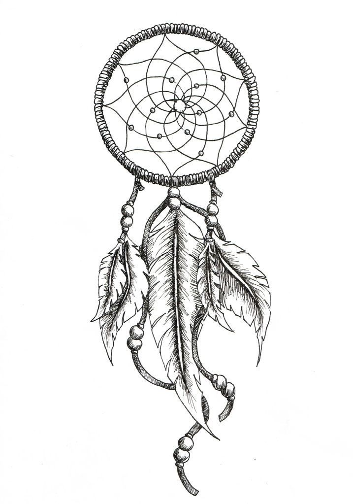 Dream Catcher Outline Tatto Ideas 2017  Dream Catcher Tattoo Outline Tattoo Outline