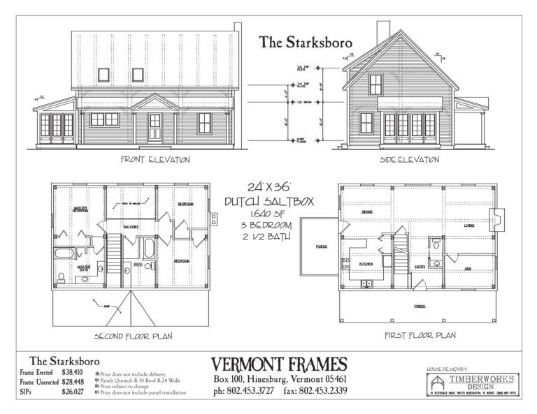 Post Beam Home Plans In Vt Timber Framing Floor Plans Vt Frames Floor Plans House Plans How To Plan