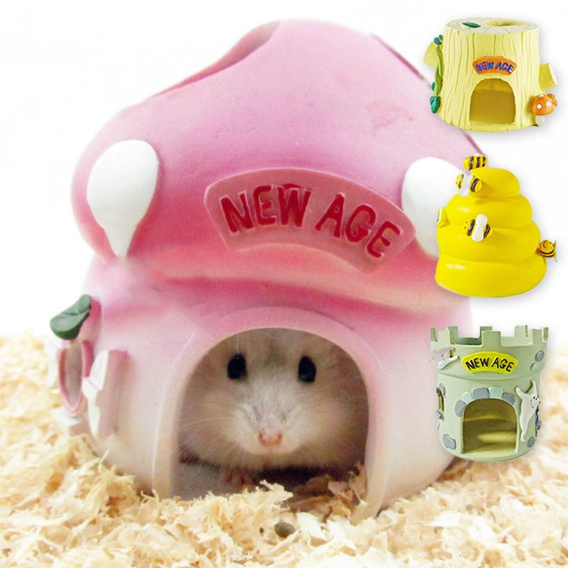 1pc hamster house bees style resin hamster hut bedrooms small rh pinterest com