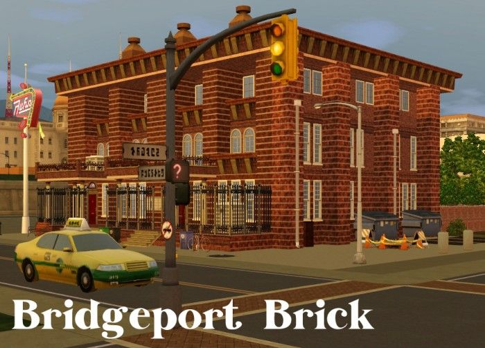 Bridgeport Brick Apartment by fairycake89 - Sims 3 Downloads