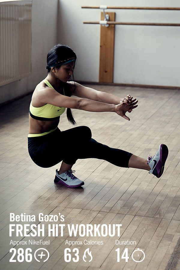capa Sobriqueta Surtido  Start high intensity training with Nike Master Trainer Betina Gozo's Fresh  HIT beginner workout in the Nike+ Training Club A… | Workout clothes,  Workout, Nike women